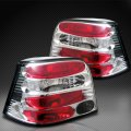 A4 Chrome Euro Altezza Tail Lights for VW Golf 1999-2005