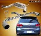 MK6 Stainless Exhaust System for VW Golf GTI 2009-2012
