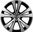 "18"" DCP-18-ASX Black Wheels for VW Golf 2008-2013"