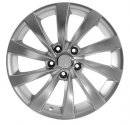 "17"" DCP-17-ZBB Silver Wheels for VW Golf / Rabbit 2006-2013"