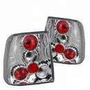 B5 Chrome Altezza Style Tail Lights for VW Passat 98-01