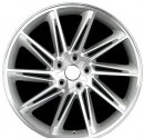 "19"" DCP-19-ZBC Silver Wheels for VW Golf 2005-2013"