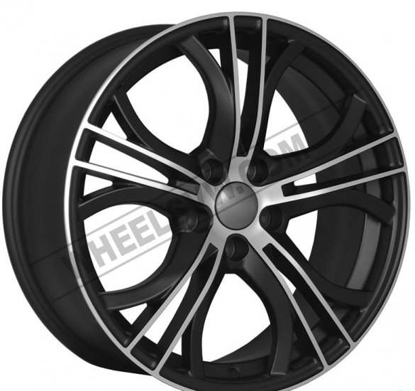 "18"" DCP-18-ADS Black Wheels for VW CC 2008-2013 - Click Image to Close"