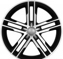 "18"" DCP-18-AFF Black Wheels for VW Tiguan 2009-2013"