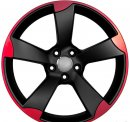 "18"" DCP-18-ALM Black Wheels for VW Golf 2005-2013"
