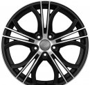 "18"" DCP-18-ADS Black Wheels for VW Tiguan 2009-2013"