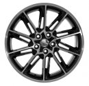 "18"" DCP-18-ATE Black Wheels for VW Golf 2005-2013"