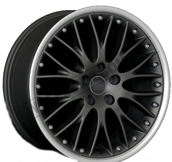 "18"" DCP-18-MBM Gunmetal Wheels for VW CC 2008-2013 - Click Image to Close"
