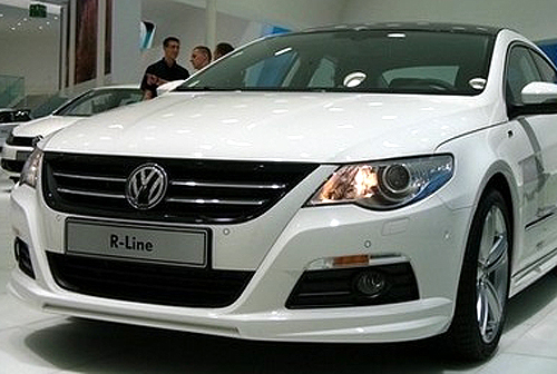R Style Front Lip Spoiler for VW CC 2008-2011
