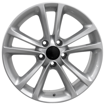 "17"" DCP-17-ZXX Silver Wheels for VW CC 2008-2013"