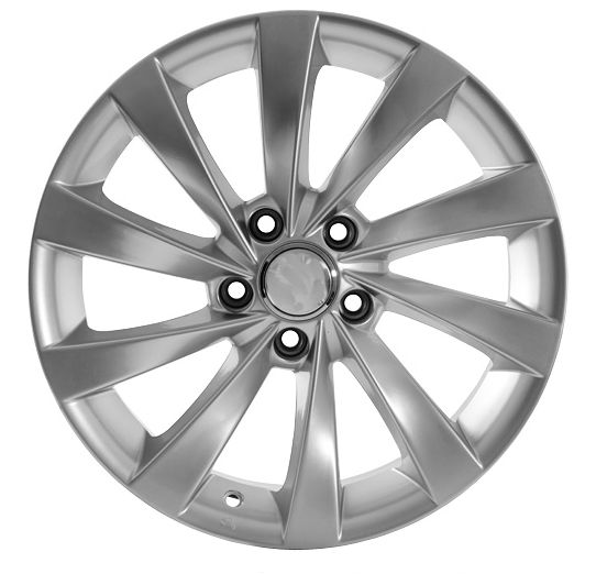 "18"" DCP-18-ZSS Silver Wheels for VW Jetta 2005-2013"