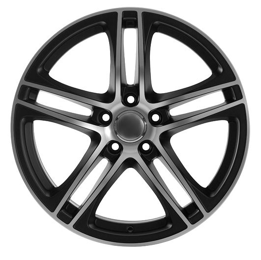 "18"" DCP-18-ASY Black Wheels for VW CC 2008-2013"
