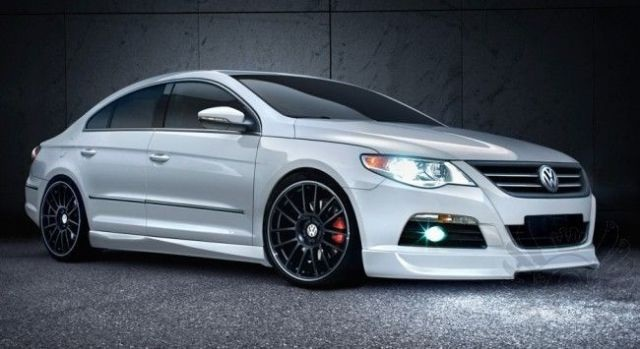 Euro Full Body Kit Lip for VW CC 2008-2011