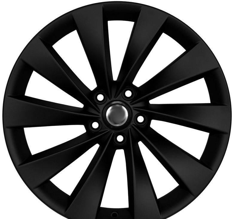 "19"" DCP-19-ATG Black Wheels for VW Jetta 2005-2013"