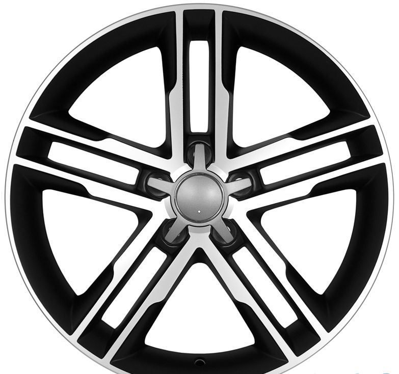 "18"" DCP-18-AFF Black Wheels for VW CC 2008-2013"