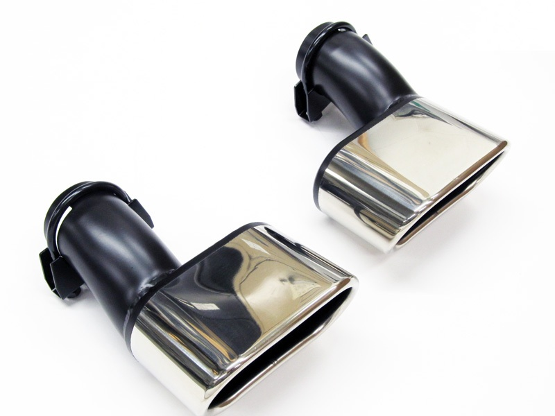Stainless Steel Exhaust Tips for V6 Touareg 2004-2007